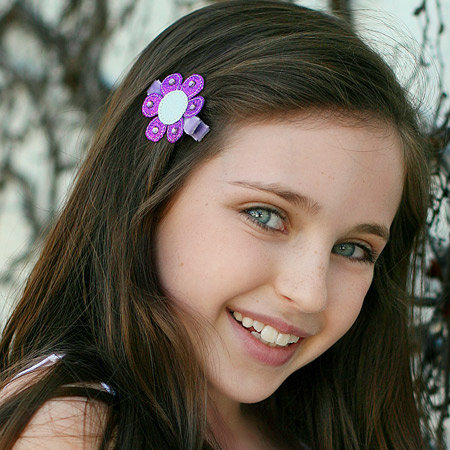 Felicia Flower clip