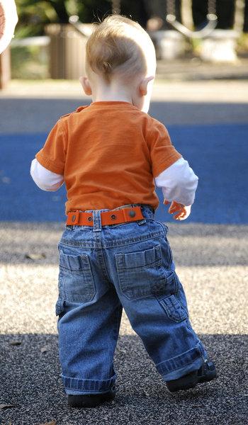 Dapper Snappers Kids Belt on little boy