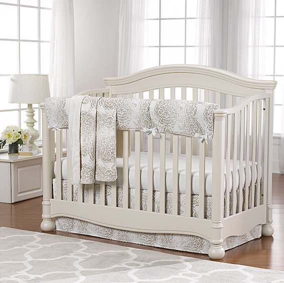 Gender Neutral Baby Bedding in Many Fabrics