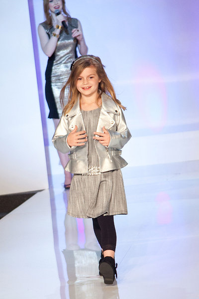 Jacket - Elisa B.; Dress - Laundry by Shelli Segal