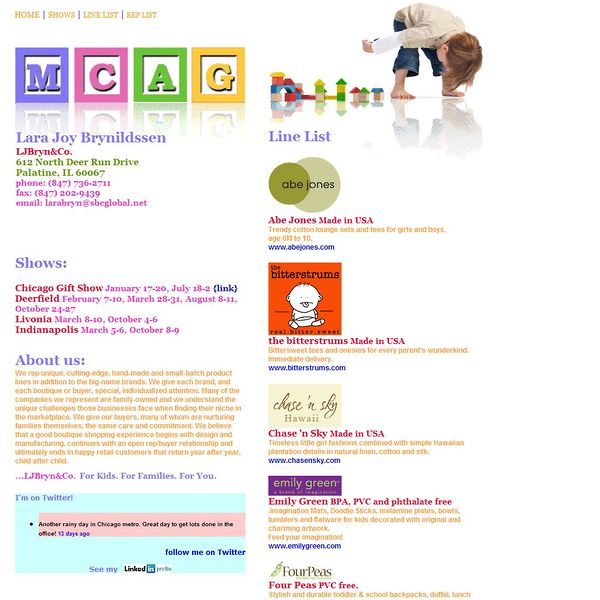Screenshot of www.LJBrynAndCo.com