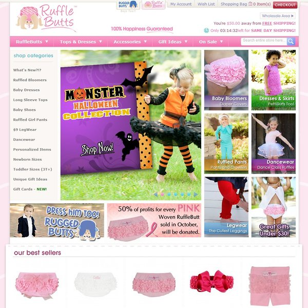 Screenshot of RuffleButts.com