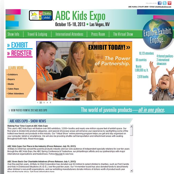 all baby child inc abc kids expo the giggle guide trade shows rh thegiggleguide com abc family guide for today today's abc racing guide