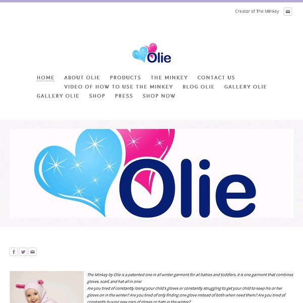 Screenshot of www.theolie.com