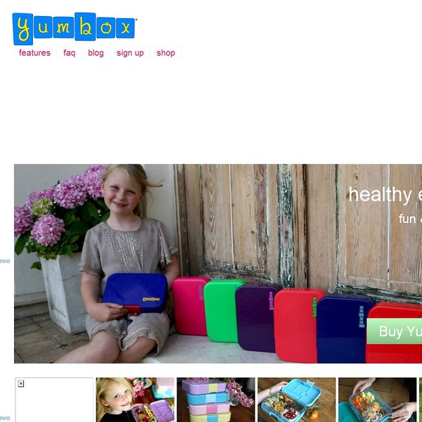 Screenshot of yumboxlunch.com