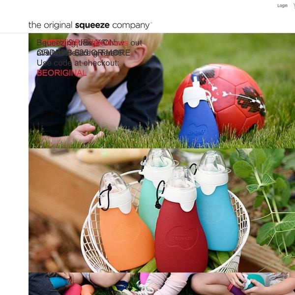 Screenshot of www.originalsqueeze.com