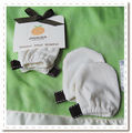 Bamboo baby mittens - keep baby's delicate skin projected from wild nails or use these in the cooler months