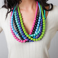 Nixi teething jewelry by Bumkins! Colorful, fashionable silicone jewelry!