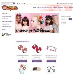 Screenshot of www.republicofpigtails.com