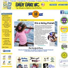 Screenshot of usa.babybanz.com