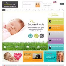Screenshot of www.snoozeshadeusa.com