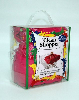 New eco-friendly Clean Shopper shopping cart packaging
