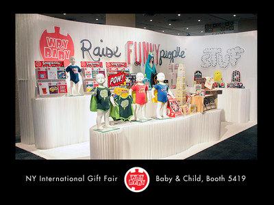 Wry baby new york international gift fair 8 13 11 8 for New york international gift fair