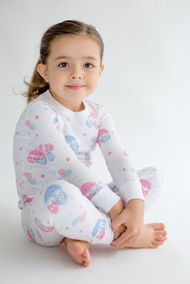 Kissy Kissy PJs collection celebrates lights out with two-piece sleepwear in its signature Peruvian Pima cotton