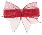 Audrey Organza Baby Bow (in 8 colors)