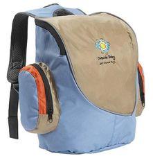 Top Entry with side zip pockets Padded adjustable shoulder strap