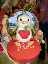 ducky from Apple Park