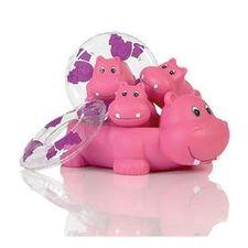 Elegant Baby - Baby Bath Hippo Set