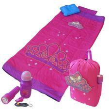 Cellcorp - Fairy Princess Kids Sleeping Bag Back Pack Combo