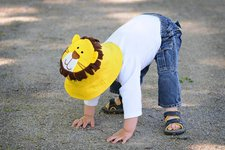 Luvali - This hat reverse to a monkey.