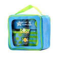 Redesigned Baby on the Go, our popular feeding set.