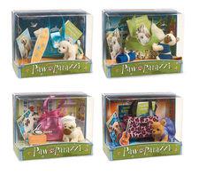 Four New Pawparazzi Pet Sets!
