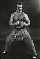 Richard Turner - Ready for combat as 6 degree Black Belt