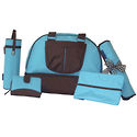 Chocolate Collection Shoulder Bag -- Aqua
