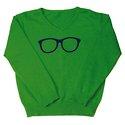 Glasses Sweater