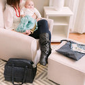 The Nixi Collection by Bumkins includes teething jewelry, travel bags, wet bags, wet/dry bags, diaper clutches and more!