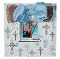 Crosses - 12x12 with 4x4 opening, crosses, crystals and bows