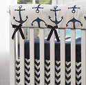 Nautical Themed Baby Bedding. Mix and Match.